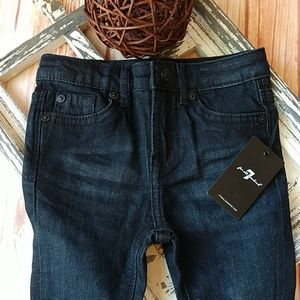 7 for all mankind toddler jeans. NWT. Size 18mo.